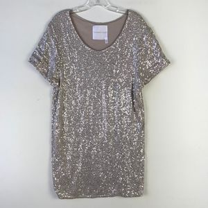 Victoria's Secret Sequins Mini Sheath Dress #1250